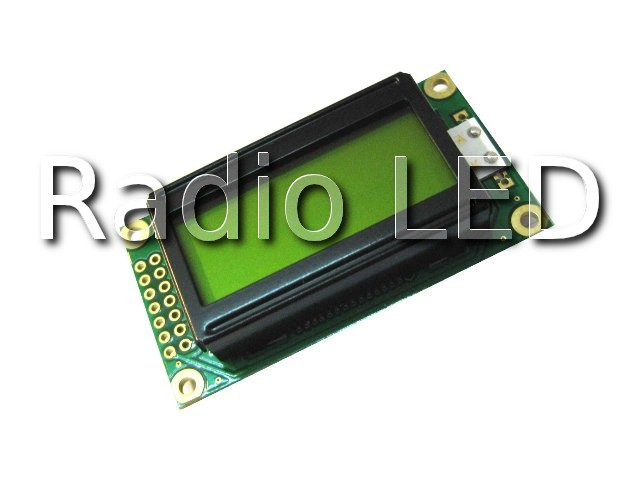 LCD символьный  8x2 WH0802A-NGG-CT