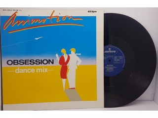 """Animotion – Obsession (Dance Mix) MS 12"""" 45RPM"""