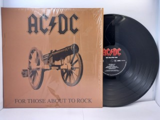 """AC/DC – For Those About To Rock We Salute You LP 12"""""""
